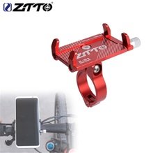 ZTTO bicycle phone holder Reliable Mount Universal MTB Bike Cell Phone GPS Metal Motorcycle Holder on Road bike Moto Handlebar