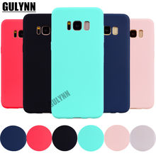 Ultra-thin Candy Color Case for Samsung Galaxy S8 S9 A6 A8 J3 J5 J7 A3 A5 A7 J3 J5 J7 J4 J6 J8 2018 2017 Silicon TPU Soft Cases(China)