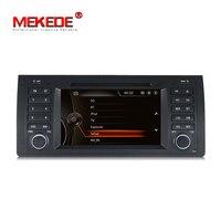 Бесплатная map 1 Din dvd плеер автомобиля для E53 X5 E39 E38 dvd автомагнитолы стерео gps навигации Bluetooth RDS ipod 7 дюймовый емкостный экран