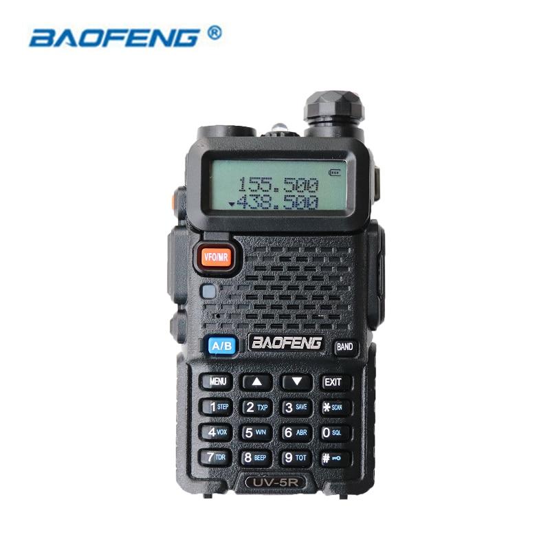 Baofeng UV-5R Walkie Talkie Dual Band CB HAM Radio VOX 2 Weg Tragbare Transceiver VHF UHF FM BF UV 5R radios PPT Handheld Stereo