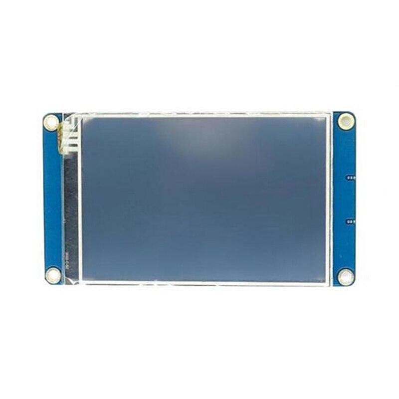 Nueva llegada de la versión en inglés NX4832T035 3,5 ''UART HMI inteligente Módulo de pantalla LCD de pantalla para Arduino TFT, Raspberry Pi, módulos LCD