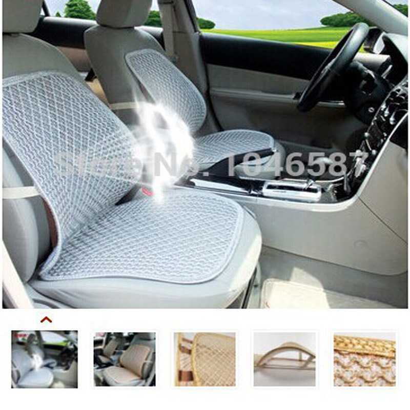 buy cool car seat cushion home office chair waist cushion auto cooling mat. Black Bedroom Furniture Sets. Home Design Ideas