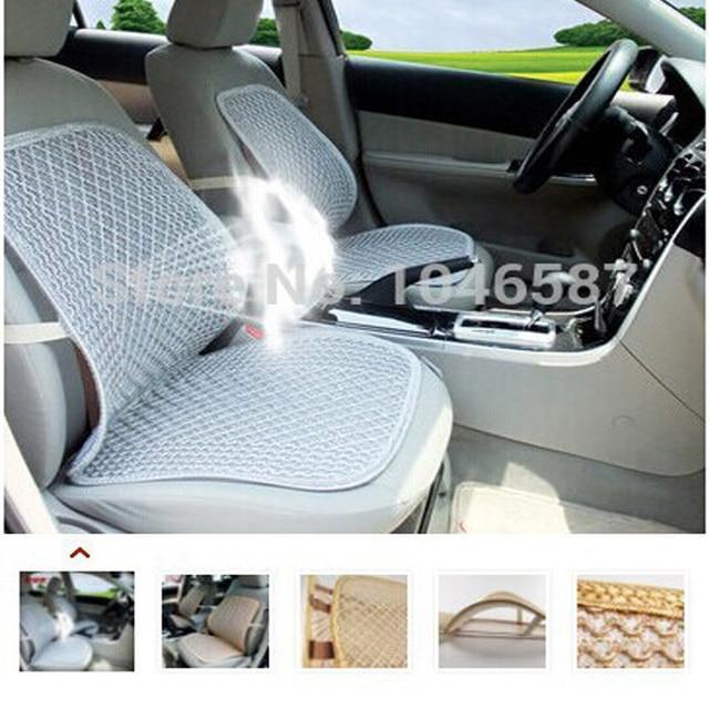 Cool Car Seat Cushion Home Office Chair Waist Auto Cooling Mat Single Belt