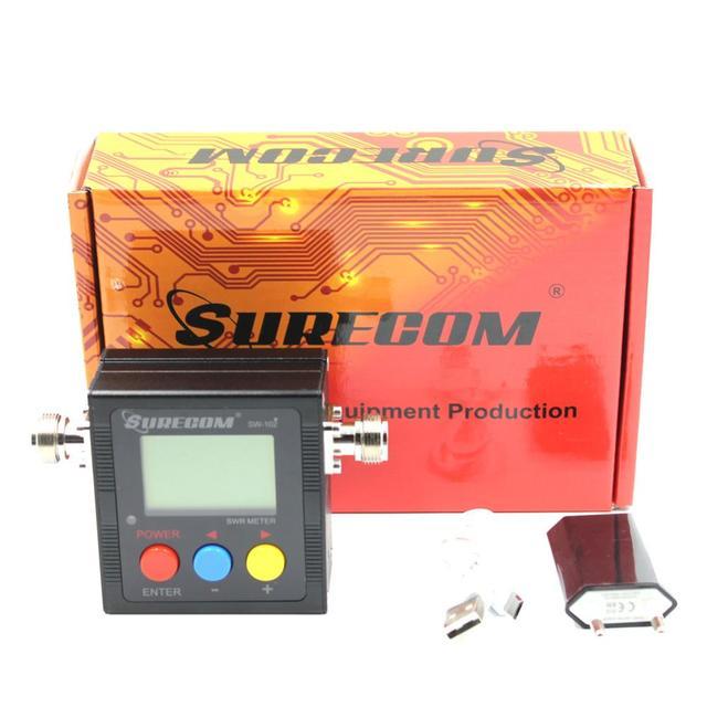 Suresom SW 102 125 520Mhz Digital VHF/UHF Power & SWR Meter SW102 For Handheld Radio SWR & POWER WATT METER