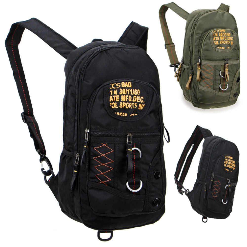 Военный школьный рюкзак для ноутбука рюкзак сумка для мужчин и женщин черный зеленый KW1163