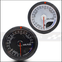 AIR/FUEL gauge Advance DEFI CR universal car instrument 2.5 Inch 60mm White+red light color Free shipping