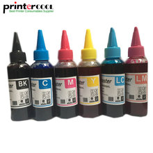цена на 600ML T0481 - T0486 Refill dye Ink For Epson Stylus Photo R200 R220 R300 R320 R340 RX500 RX600 RX620 RX640 Universal Ink T0481