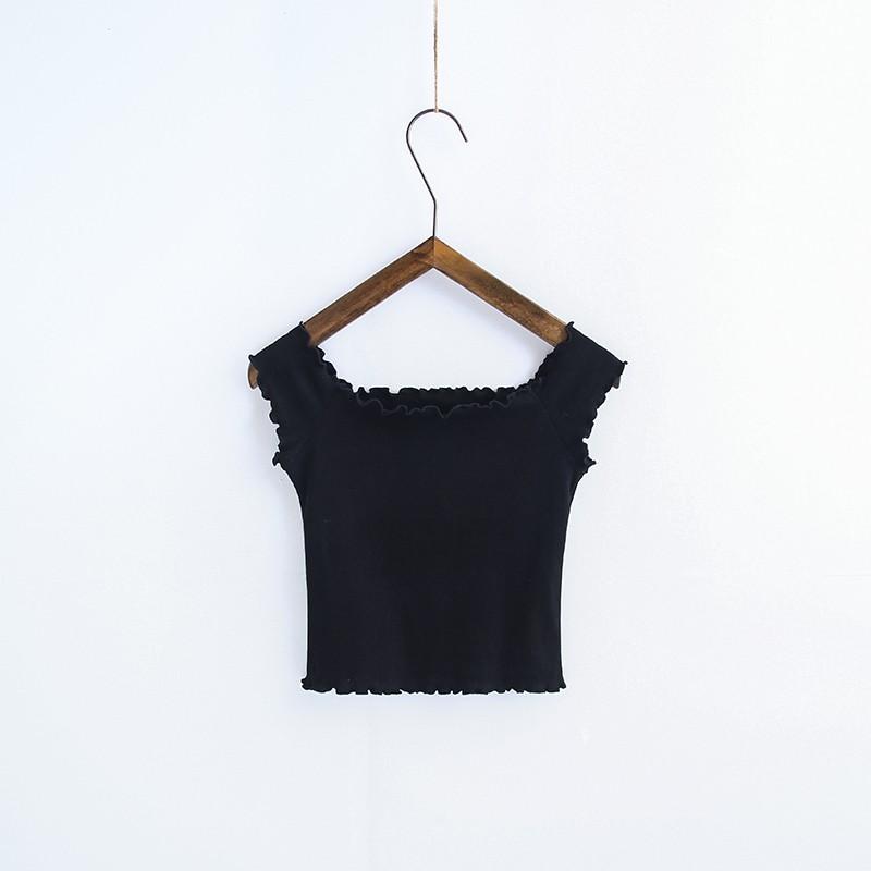 HTB1yUX3OVXXXXcQapXXq6xXFXXXV - Striped Knitted Off Shoulder Slash Neck Short Sleeve T Shirt PTC 27