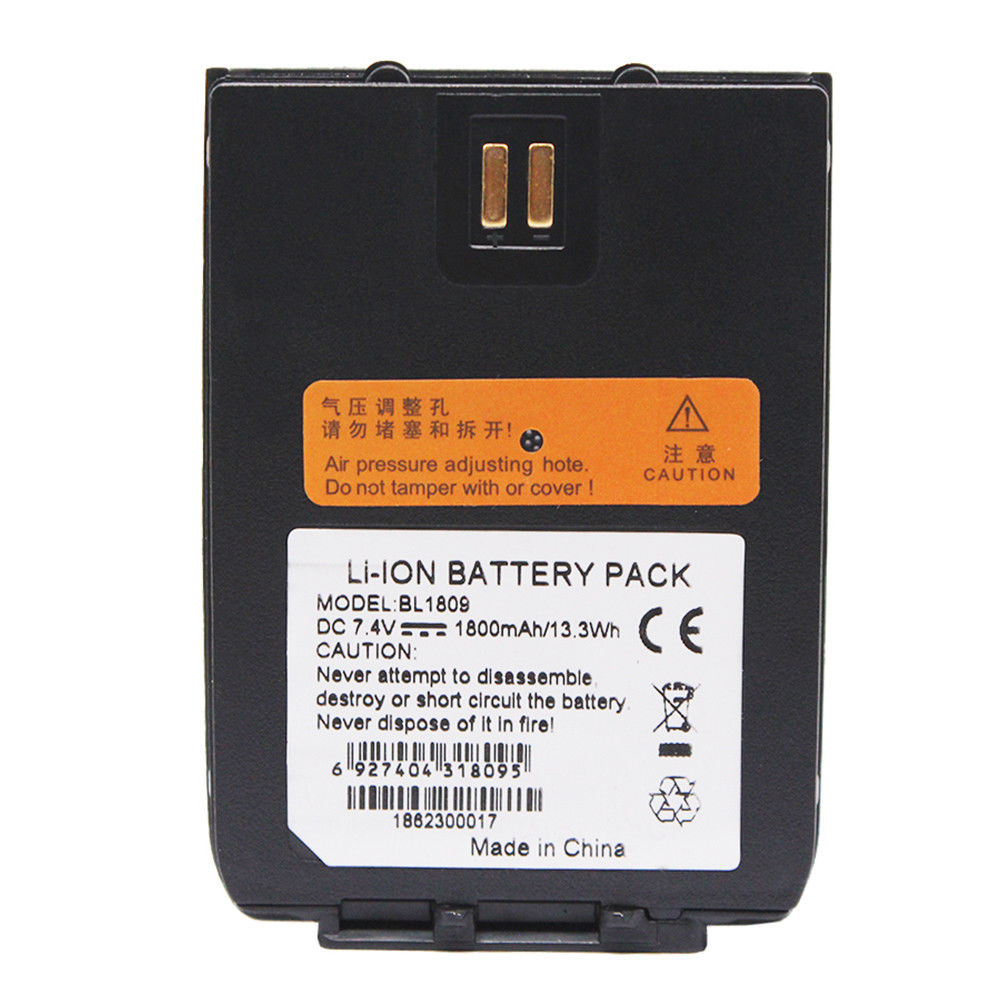 BL1809 BL1103 BL1401 1800mAh Li-ion Battery For HYT HYTERA Radio X1 Z1 X1E X1P Z1P Harris Momentum HDP250 MaCom-Ericsson X1E X1P