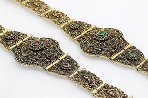 Image 4 - SUNSPICE MS antigo ouro cor metal cinto de cintura para mulher caftan cintura marrocos casamento jóias do corpo comprimento ajustável corrente