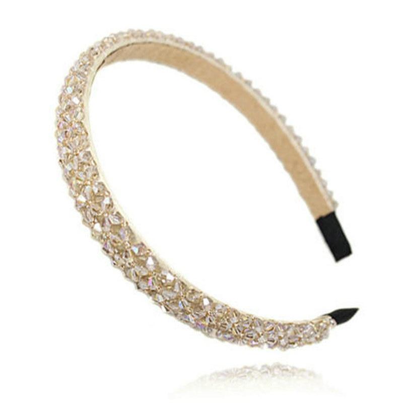 Fashion Shining Full Crystal Modern Style Rhinestone Headband Hairbands Headwear Hair Accessories For Girl Women Wedding Jewelry