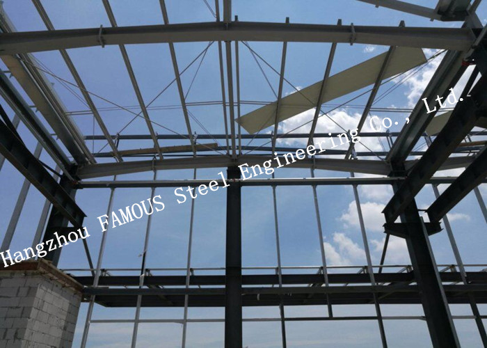 Prefabricated Steel Frame Construction Structure Factory Shed Buildings For Industry Building