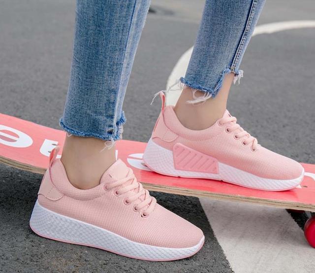 women 2018 autumn sports sneakers