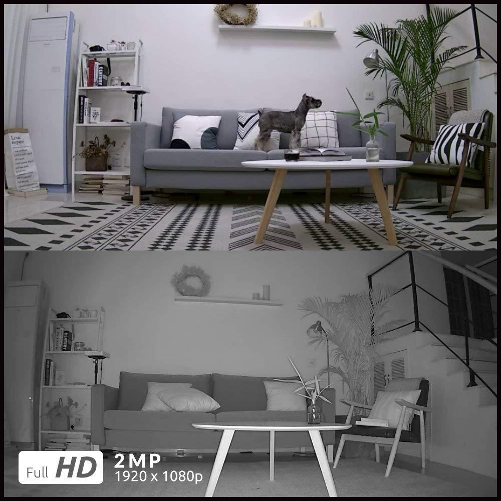 Reolink-caméra de surveillance intérieure/extérieure IP WiFi hd 100% P (Argus Pro), dispositif de sécurité sans fil 1080, étanche, batterie, 2 paquets 4