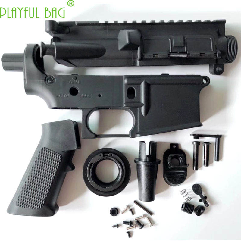 Playful Bag CS Equipment Jinming9 Gen9 No. 2 Wave Box M4 Toy Water Bullet Gun Refitted Replaced Best Parts Nylon Casing OI95