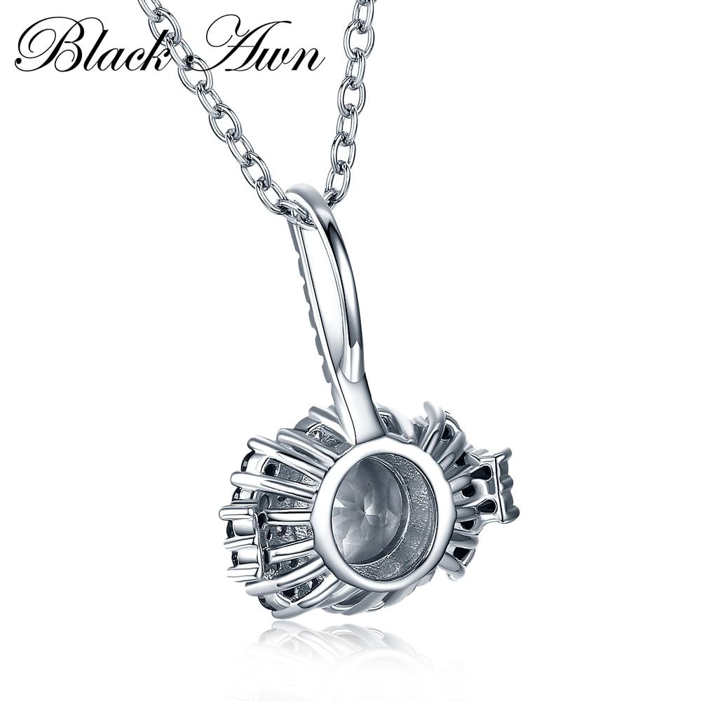 [QARA AWN] 925 Sterling Gümüşü Gözəl Zərgərlik Qadın Toy - Gözəl zərgərlik - Fotoqrafiya 5