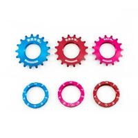 Fixed Gear Bike Bicycle Freewheel Cogs Hub Locking single Speed 15T 16T 17T Fixed Wheel Track Flywheel Steel Track