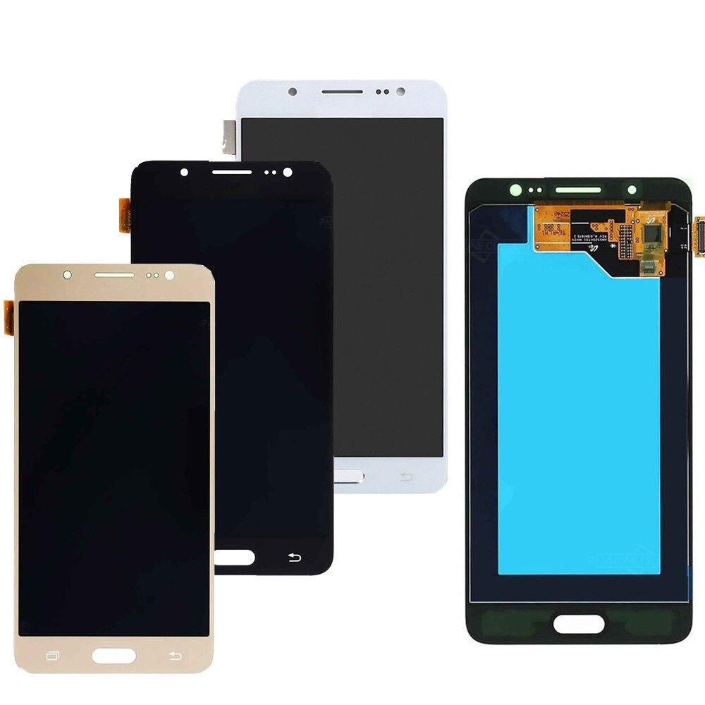 Sinbeda Super AMOLED pour SAMSUNG GALAXY J5 2016 LCD écran tactile numériseur assemblée pour Samsung J510F J510FN J510M LCD