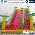 Inflatable Biggors Красный Надувной Горкой Нестандартного Размера Продажи Саудовской Аравии