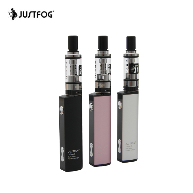 Original JUSTFOG Q16 Vape Kit 900mAh E Cigarette Vape Pen Starter Kit with 2ml Atomizer 1.6ohm OCC Coil