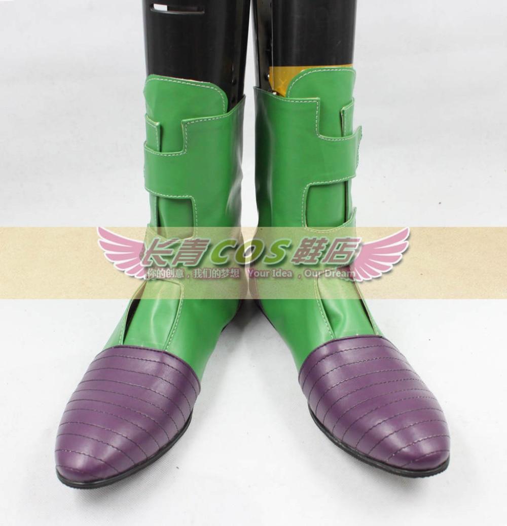 Dragon Ball Videl Green Short Cosplay
