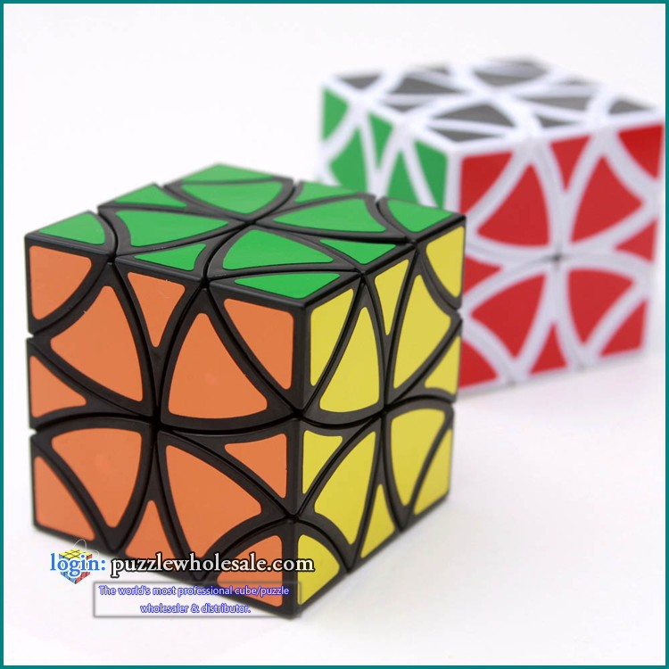 Lanlan Curvy Butterfly Helicopter Magic Cube Puzzles IQ Brain Cubos Magicos Puzzles Juguetes Educativos Magic Cube(China)
