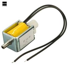 Разного качества, работающего на постоянном токе 12 В в 2-х позиционный Выключатель 3-полосная маленький мини Электрический электромагнитный клапан устройства для бензиновых воздушных/туфли-лодочки маленького размера