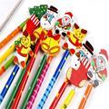 6 PCS Criativo Coreano Papelaria Crianças Lápis De Madeira