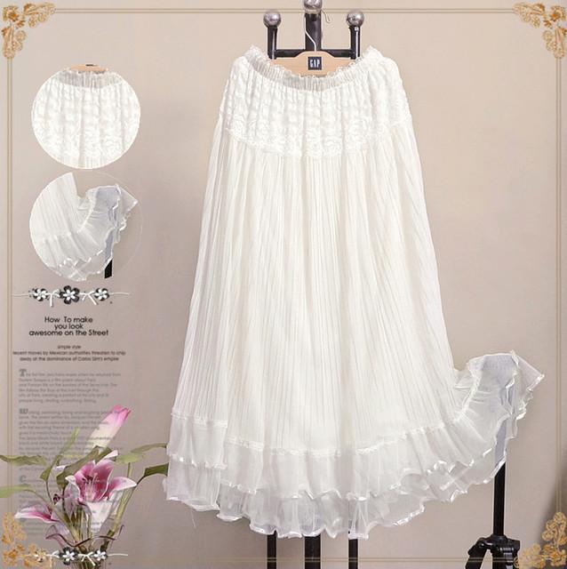 Long Skirts Womens Split Elastic Maxi Skirt Midi