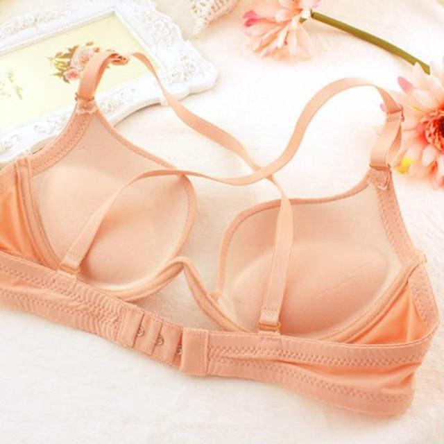 38f5605437c Sexy low-cut deep U push up bra. Backless beauty back girls underwear  fashion