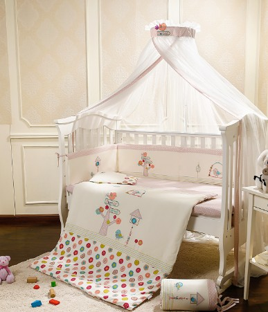 5 Pc Quality Bed Cot bedding set for newborn babies  Infant Room Kids Baby Bedroom Set Nursery Bedding promotion 6pcs baby bedding set cot crib bedding set baby bed baby cot sets include 4bumpers sheet pillow