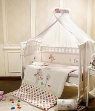 5 Pc Quality Bed Cot bedding set for newborn babies  Infant Room Kids Baby Bedroom Set Nursery Bedding