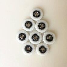4 шт./8 шт./10 шт. комплектующие для ванной подшипник роликовый для ванны опорный каток шкафа колеса 20 мм/23 мм/25 мм G25 Прямая поставка
