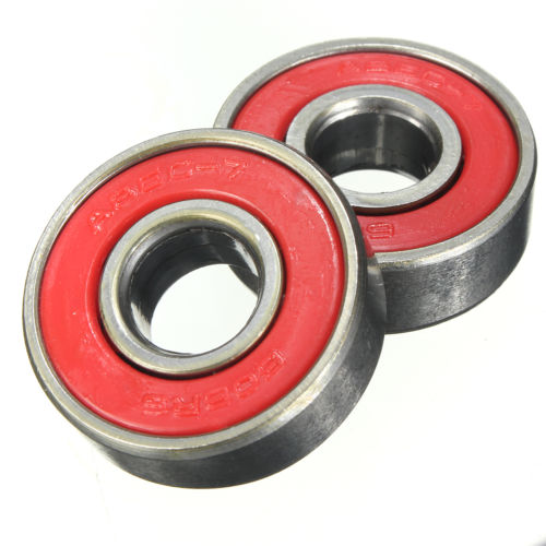 SZ Hot 10 ABEC 7 ABEC-7 608 WHEEL BEARINGS F SKATEBOARD STUNT SCOOTER QUAD INLINE SKATE 1pcs 71822 71822cd p4 7822 110x140x16 mochu thin walled miniature angular contact bearings speed spindle bearings cnc abec 7