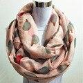 New Mulheres Moda Feminina Viscose Algodão Ouriço Imprimir a infinity scarf Moda Animal Cachecóis Xaile Envoltório venda quente lenço no pescoço