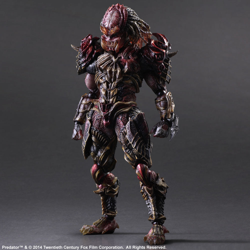 PREDATOR VARIANT PLAY ARTS Kai Predator 28cm PVC Action Figure Collection Toy Doll