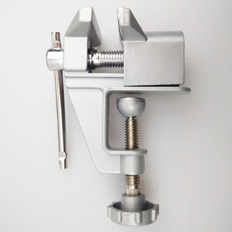 Mini vise diy tool aluminum flat nose table bench