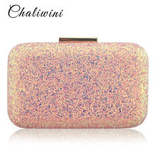 Chaliwini Evening bag Women Clutch bags Crystal Day Clutch Wallet Wedding Purse Party Banquet Women Party Bag  Evening bags xiyuan brand mini clutch bags box luxury crystal evening bags party clutch purse gold women wedding bag soiree pochette silver