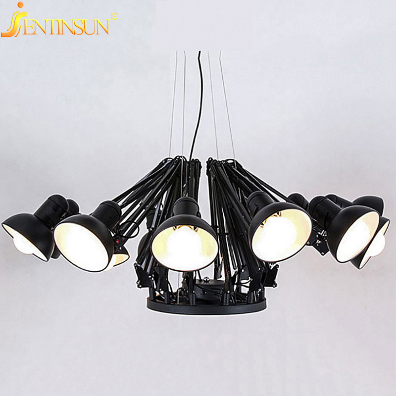 3 Color Modern American Personality Spider Lamp Extendable Pendant Light Scalable Lamp Home Fixtures for Office