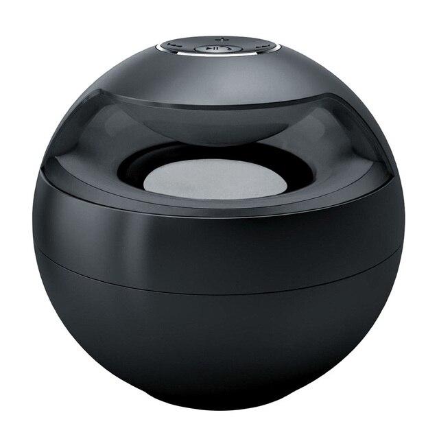 Беспроводная Связь Bluetooth Мини-Динамик Сабвуфера Открытый Спорт Портативный Стерео Flash Light Handsfree Вызов Черный