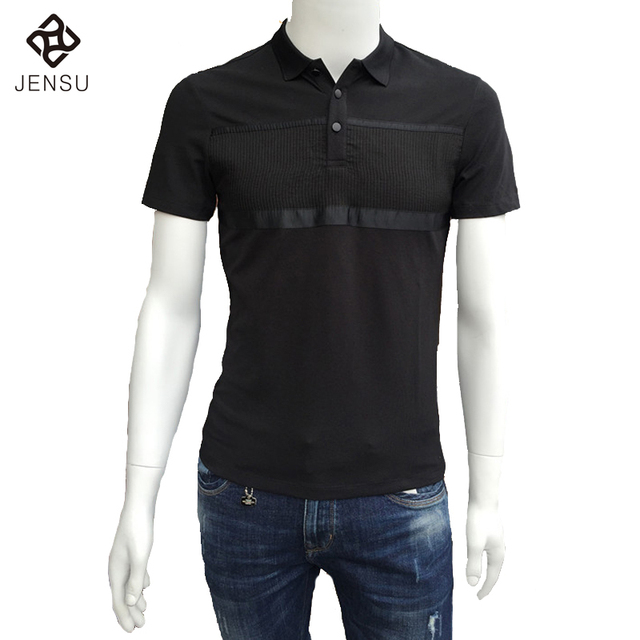 2016 Large Size Polo Shirts Men's Casual Fashion Slim Fit Short Sleeved Summer Polo Shirts Camisa Masculina Outwear Tops Hombre