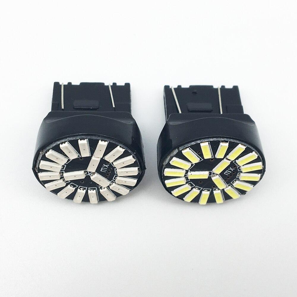 4X T20 7443 7440 W21 / 5W 4014 19 SMD Σφάλμα Canbus - Φώτα αυτοκινήτων - Φωτογραφία 4