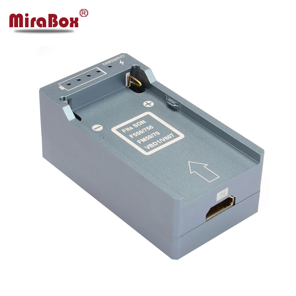 MiraBox Battery Design HDMI to SDI Converter Support 1080p Full HD for Television Monitor Portable HDMI to SD-SDI/HD-SDI/3G-SDI hdmi to sdi converter scaler 1x2 2 port 3g hd sd hdmi to sdi conver 720p to 1080p for monitor camera display free shipping