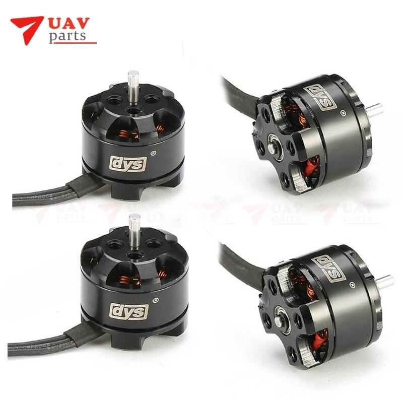4pcs lot DYS BE1104 4000KV 6500kv 7500KV 3 4S micro Brushless Motor For FPV Racing drone