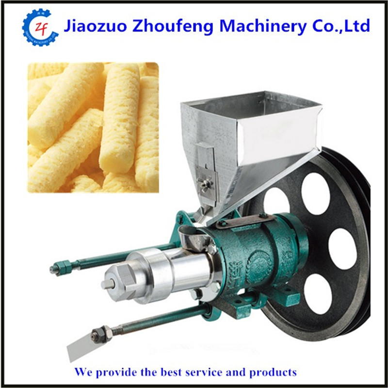 Corn puffed machine multifunction rice puffing snack food machine   ZF free shipping food snack extruder puffed corn machine puffing rice machine with best price