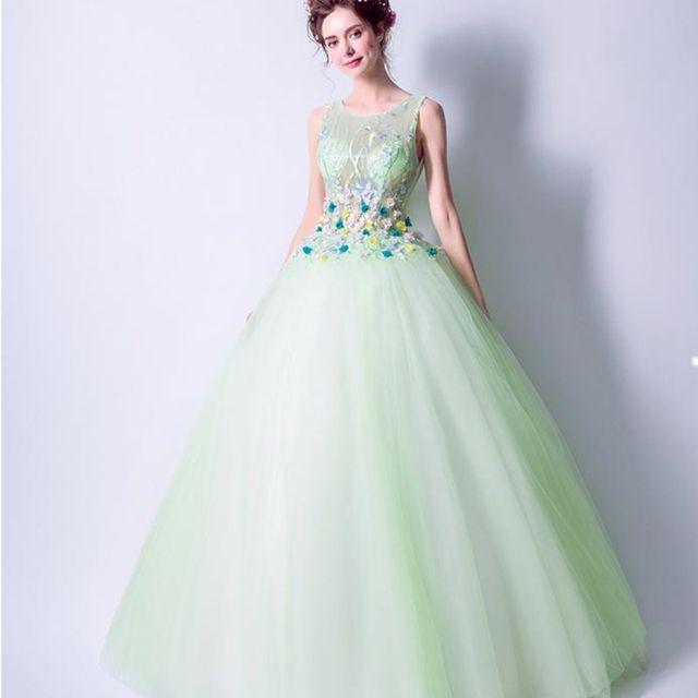 Online Shop ruthshen Mint Green Quinceanera Dresses Cheap ...