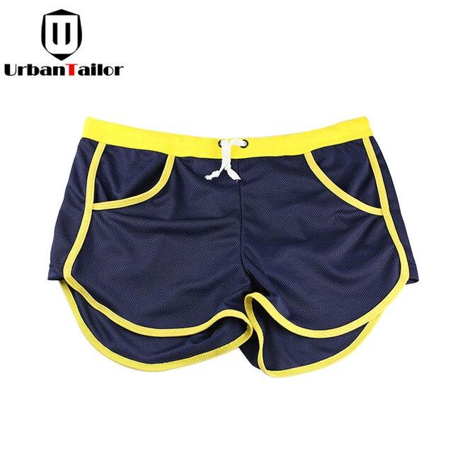 03c26f4730bbb Verão Marca Mens Jogger Shorts Esportivos Homens Emagrecimento Preto  Academias de Fitness Musculação Calças Curtas Masculino