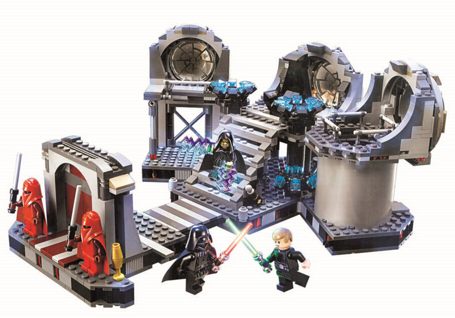 Star Wars building blocks 75093 death star final duel Model toys Compatible with Lego Best Gift