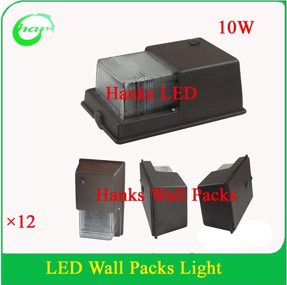 Hanks outdoor led wall pack light fixture10w building wall lamp aisle lobby walkway lighting - Consider led wall pack lighting home ...