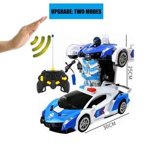 Image 4 - 2019 Горячая продажа 1/14 дистанционный контроль автомобиля датчик жестов деформация rc автомобилей